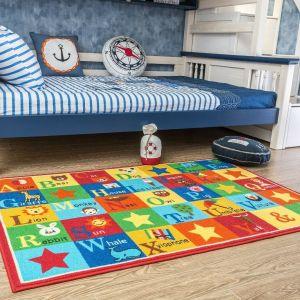 Animal ABC Area Rug for Kids