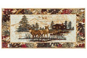 cabin lodge rug