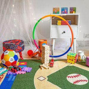 baseball rug for nursery