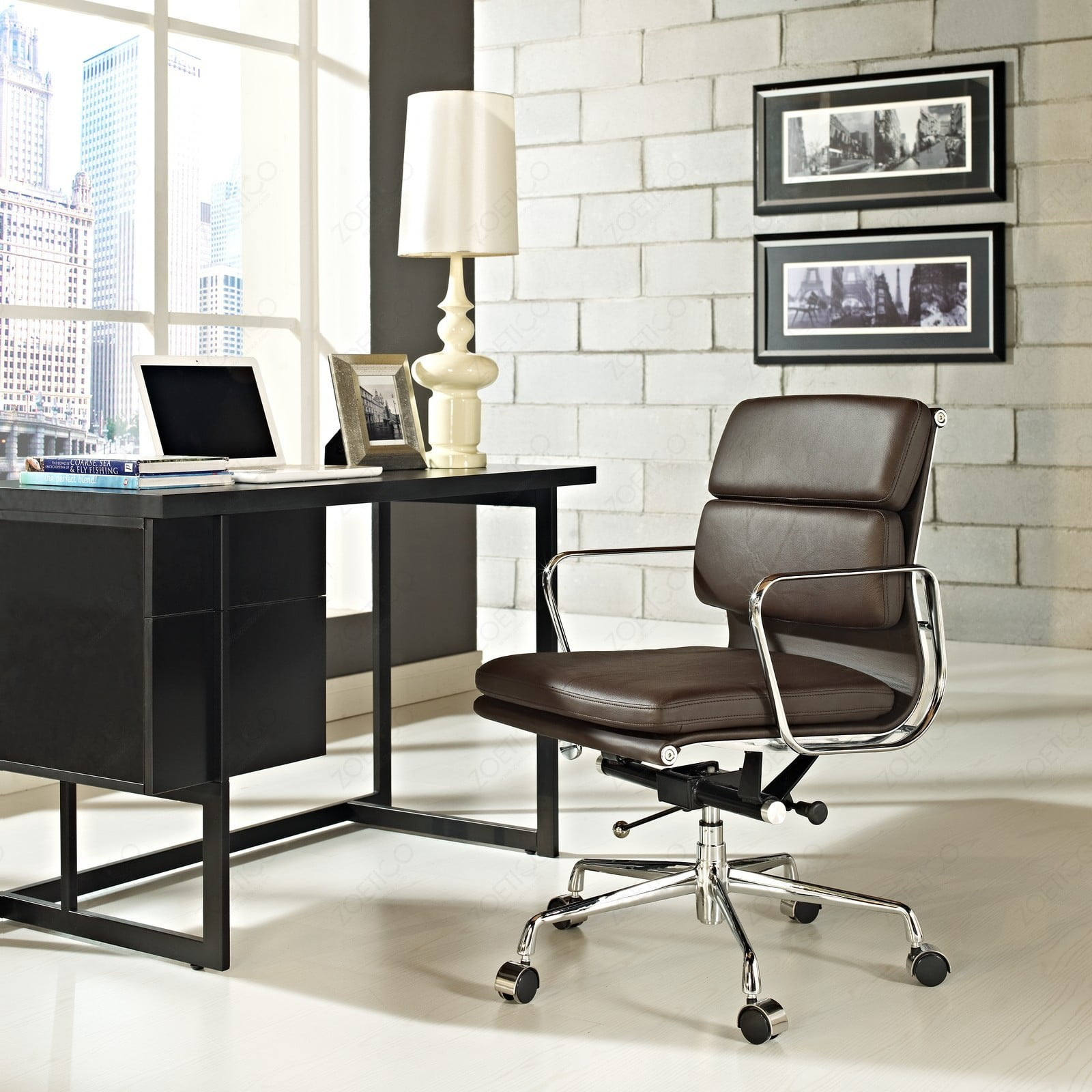 Eames Office Chair Soft Pad Management  Low back