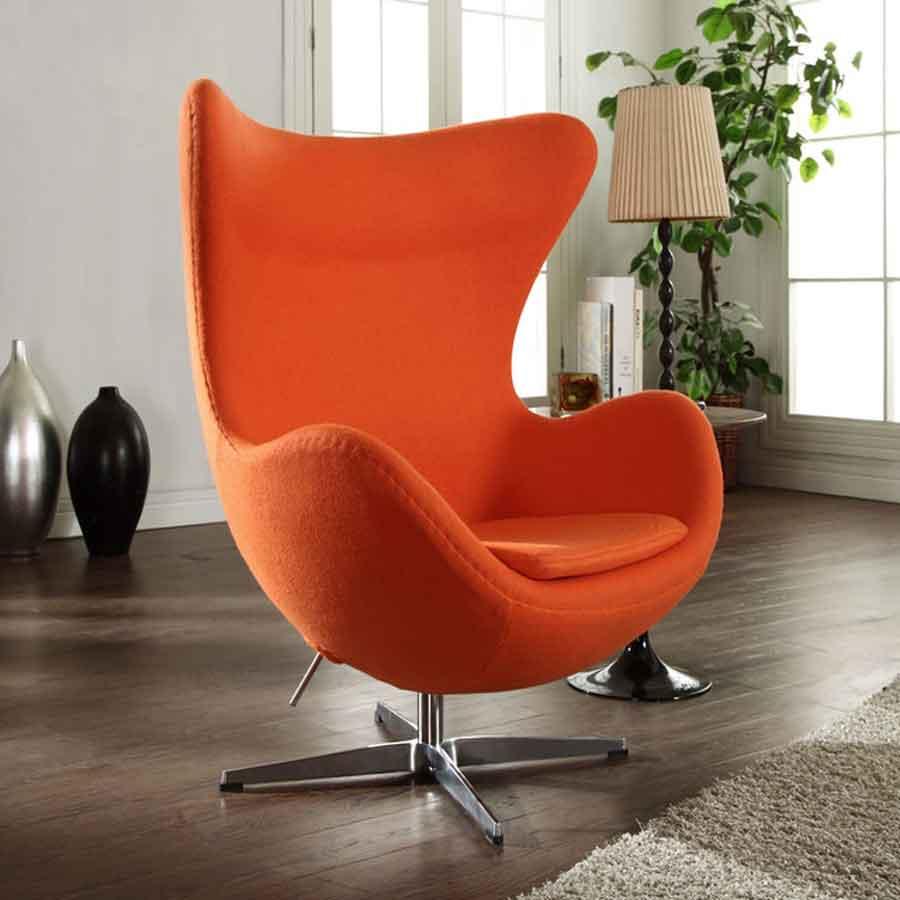 Egg Chair Reproduction Arne Jacobsen Mid Century Modern