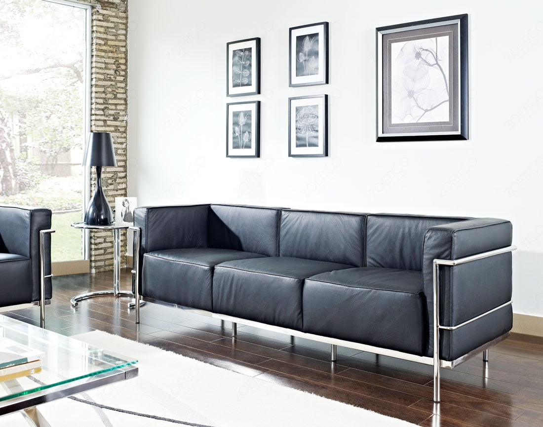 Le Corbusier Reproduction  LC3 Sofa  FurnishPlus