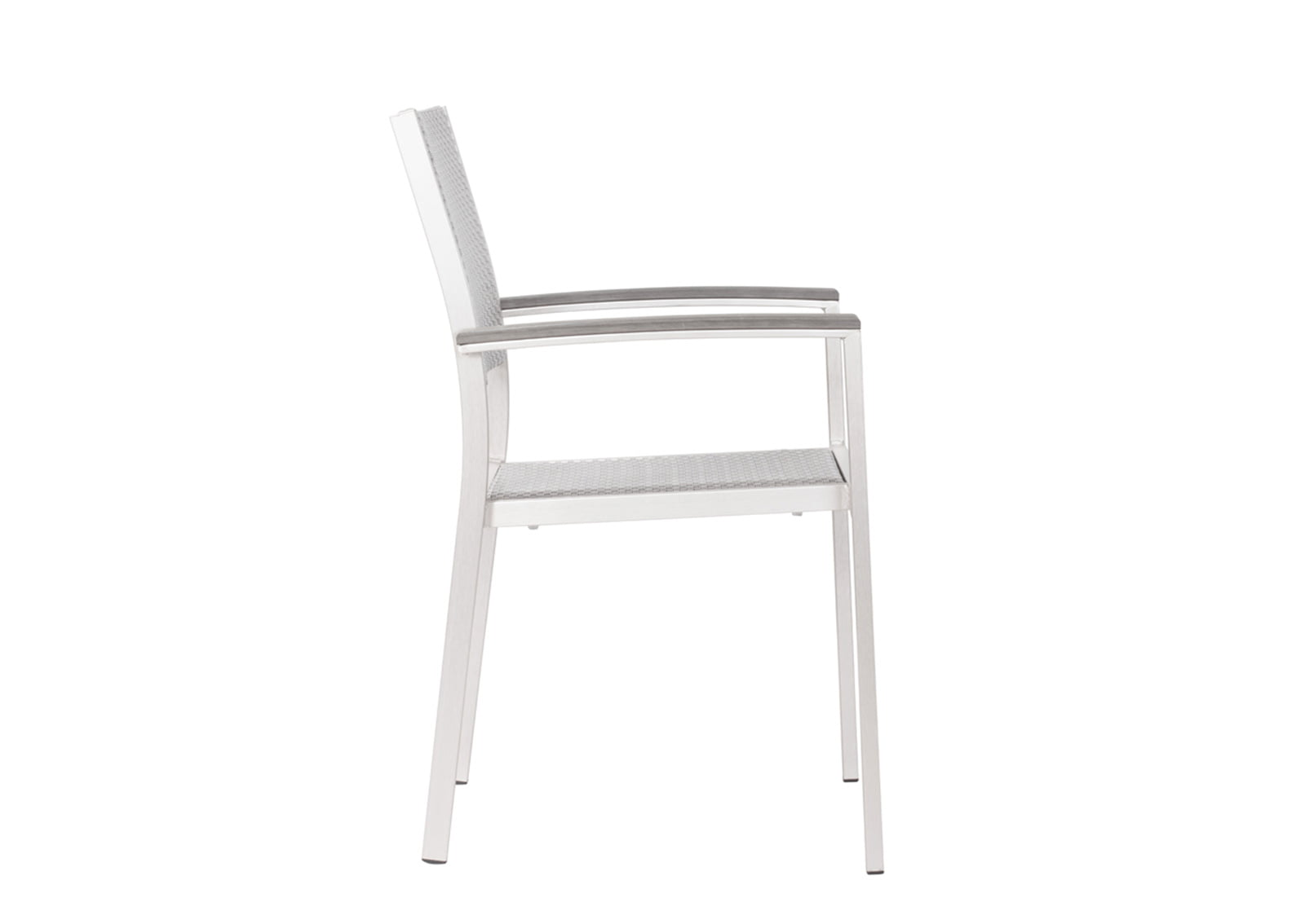 brushed aluminum chairs christmas chair covers canada metropolitan dining arm furnishplus