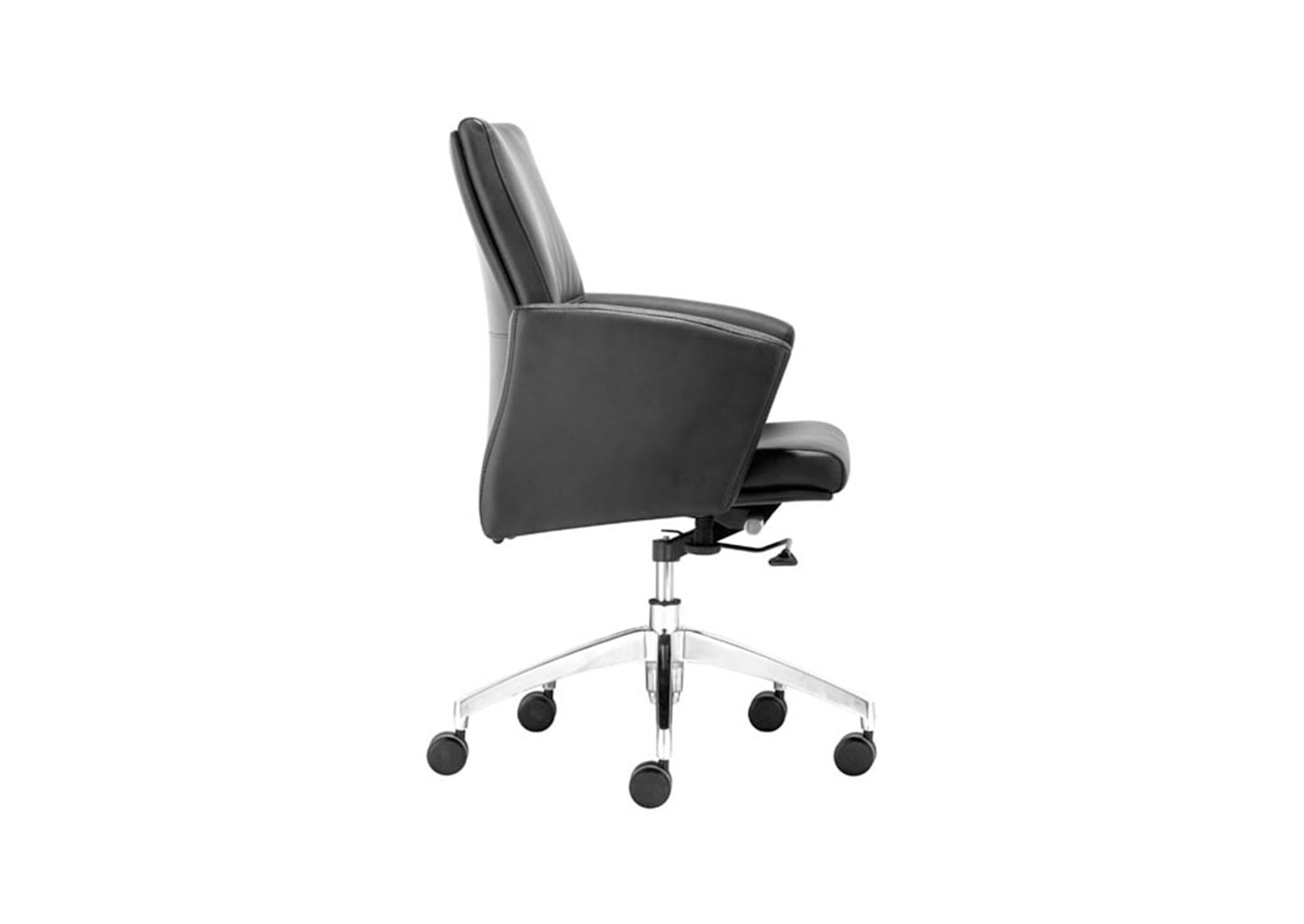 low back chair beach fishing chieftain office black furnishplus