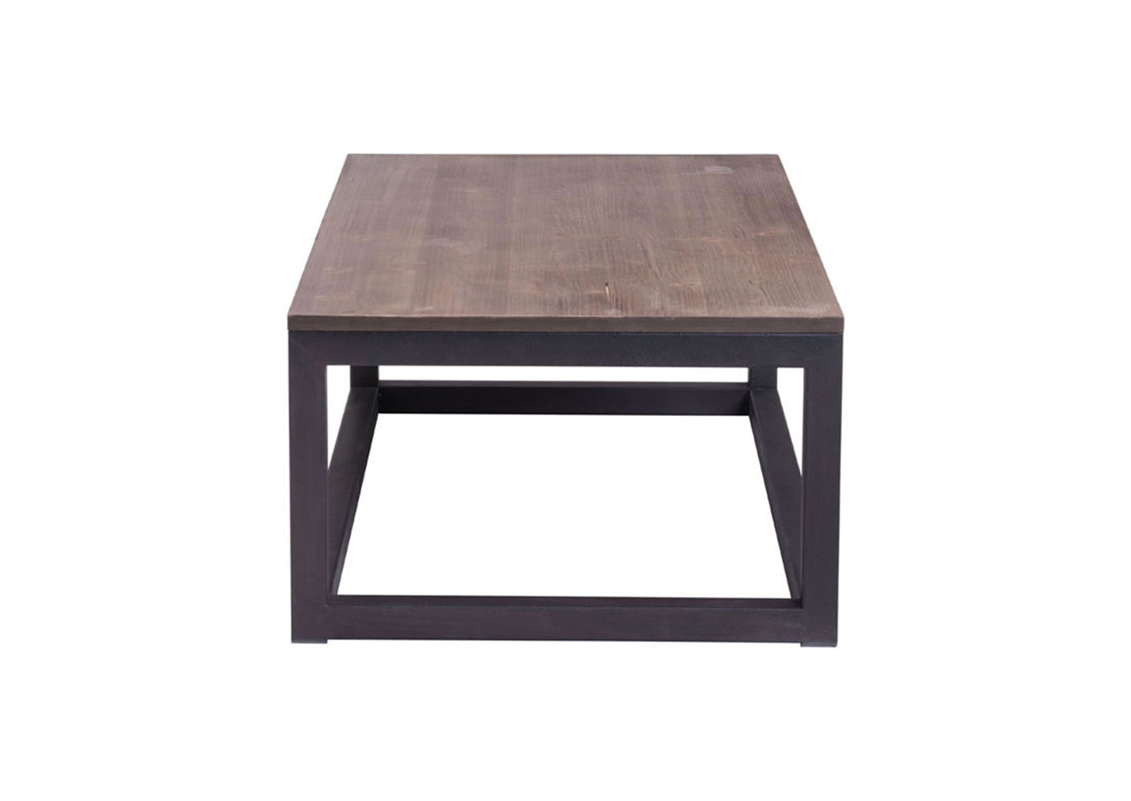 Civic Rectangular Coffee Table Distressed Natural