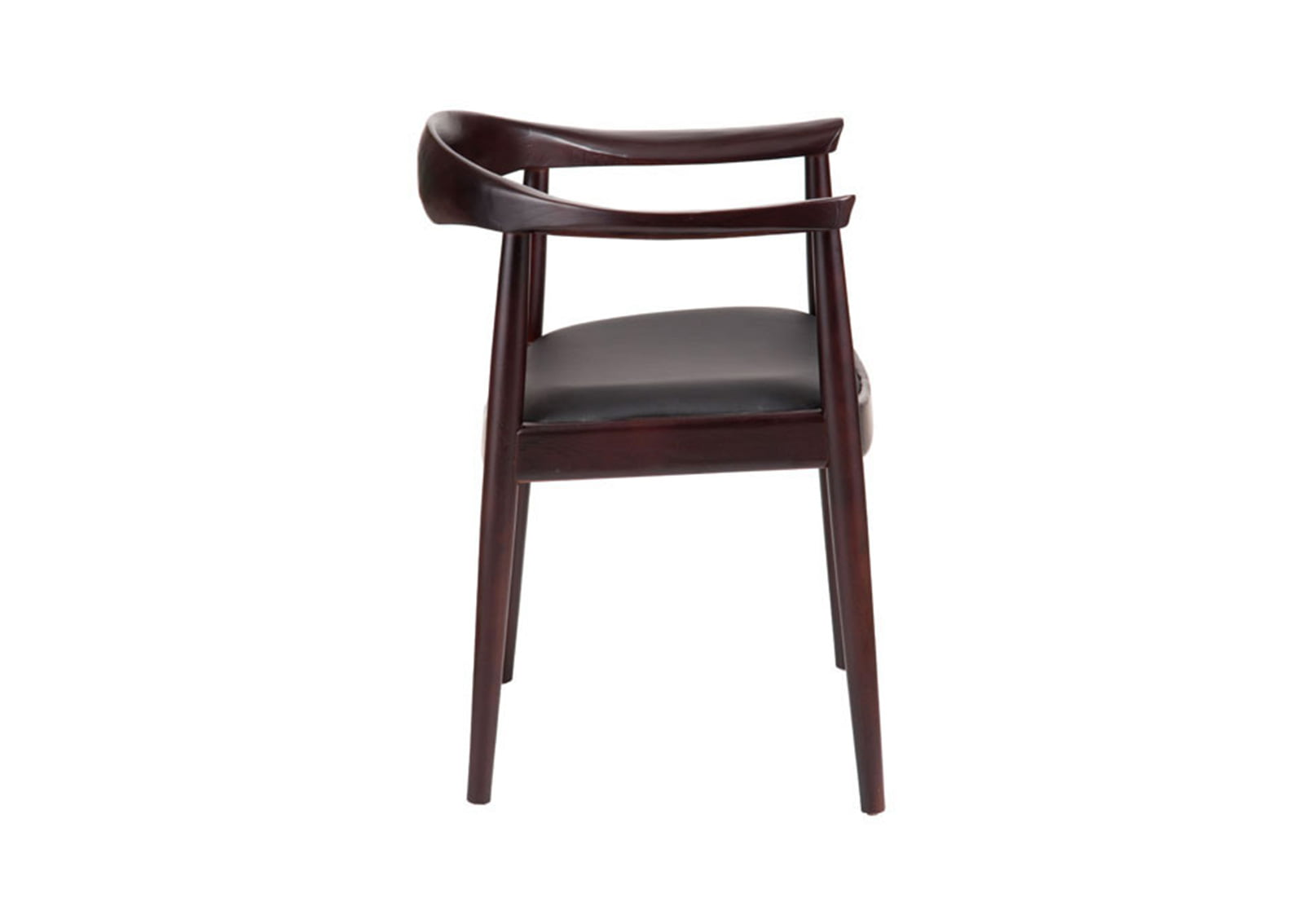 dark walnut dining chairs eames chair original greenwich and black furnishplus