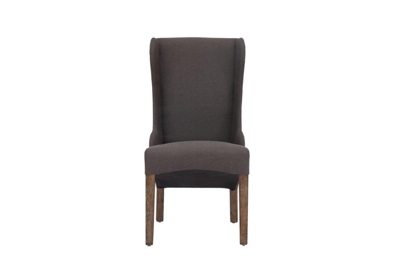 Marina Dining Chair Charcoal Gray  FurnishPlus