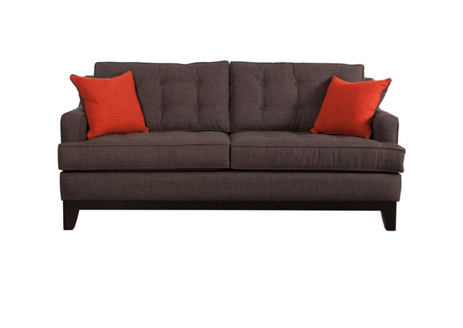 orange color sofa tufted club chicago charcoal burnt furnishplus