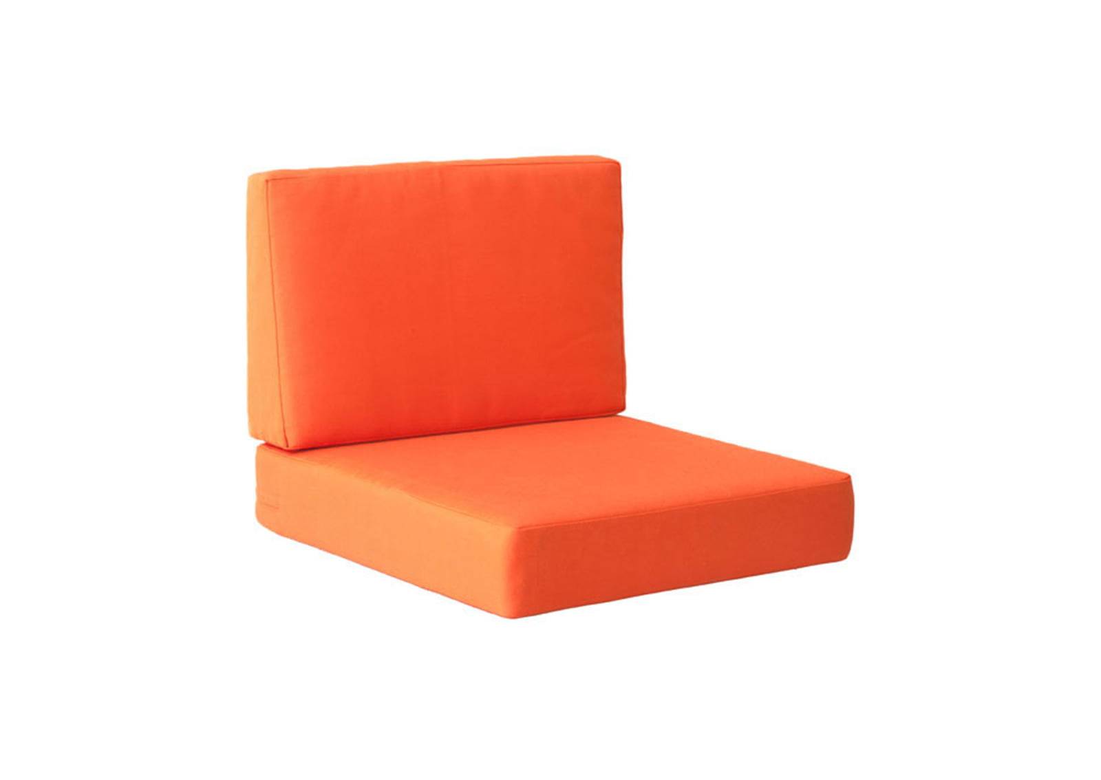 chair back cushions swivel keeps dropping cosmopolitan arm cushion orange | furnishplus