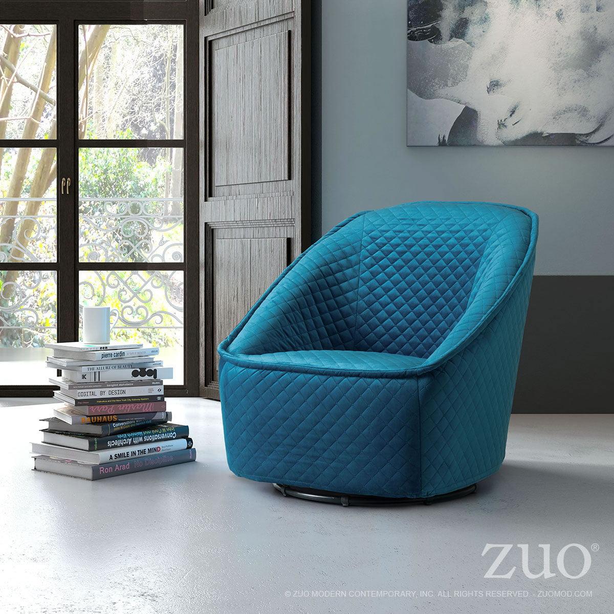 zuo swivel chair elle tufted desk ballard designs pug aquamarine furnishplus