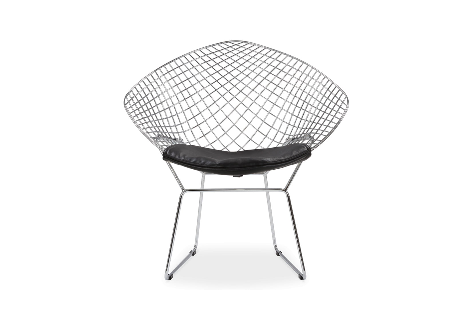 bertoia style chair white folding for less harry mid century modern furniture
