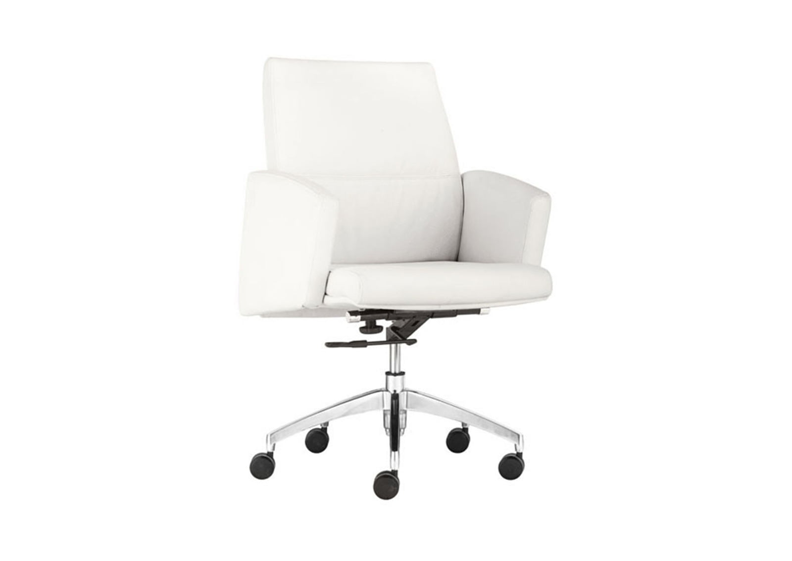 low back office chair fisher price musical chieftain white furnishplus