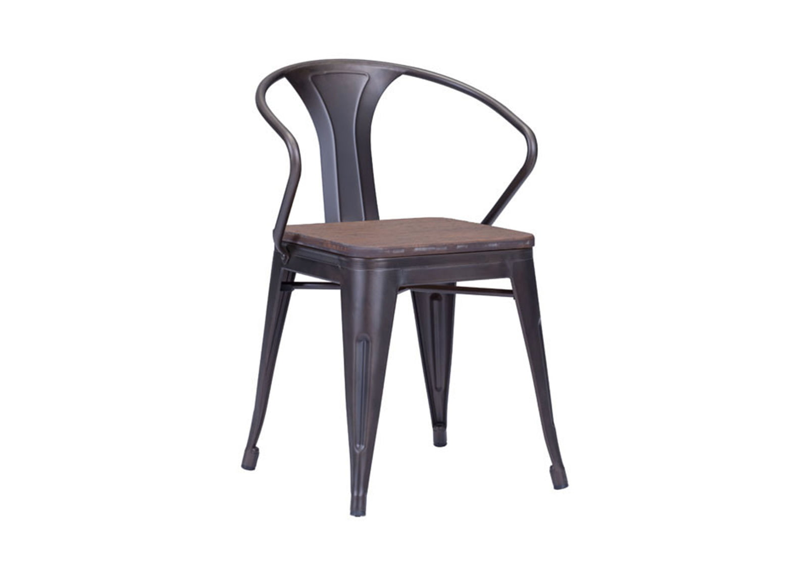 Rustic Dining Chairs Helix Dining Chair Rustic Wood Furnishplus