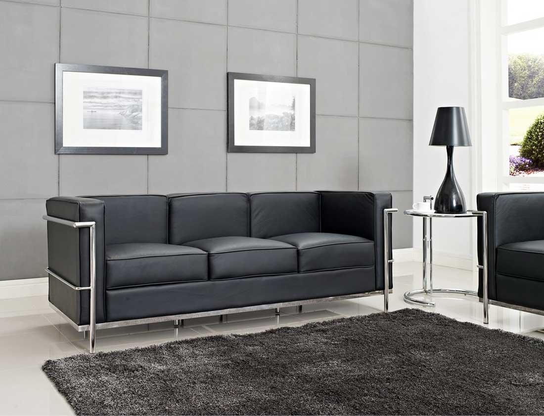 LC2 Sofa  Le Corbusier Style  FurnishPlus