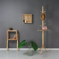 Solid wood coat rack  Furniteam