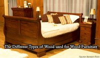 The Different Types of Wood used for Wood Furniture