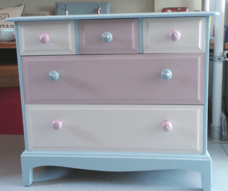 Hand Pained Chest of Drawers Plymouth
