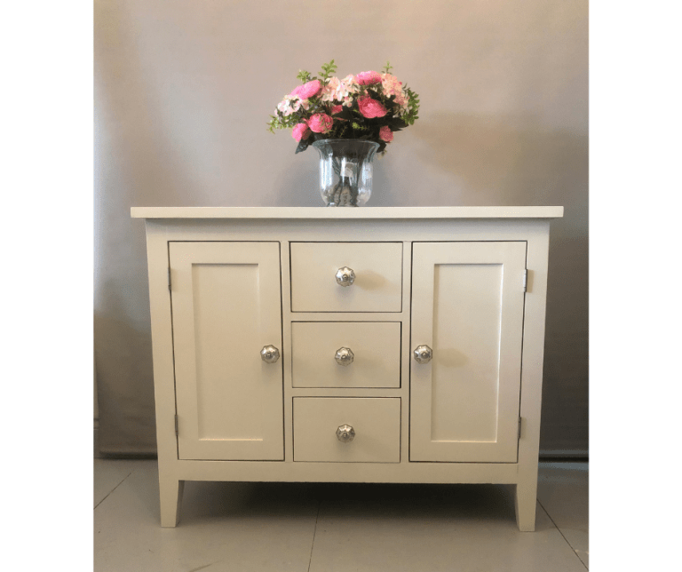 Plympton, Plymouth Hand Painted Sideboard Unit in Cream