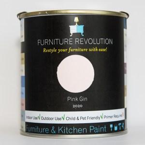 Furniture Revolution – Superior Finish – Furniture & Kitchen Paint – Pink Gin