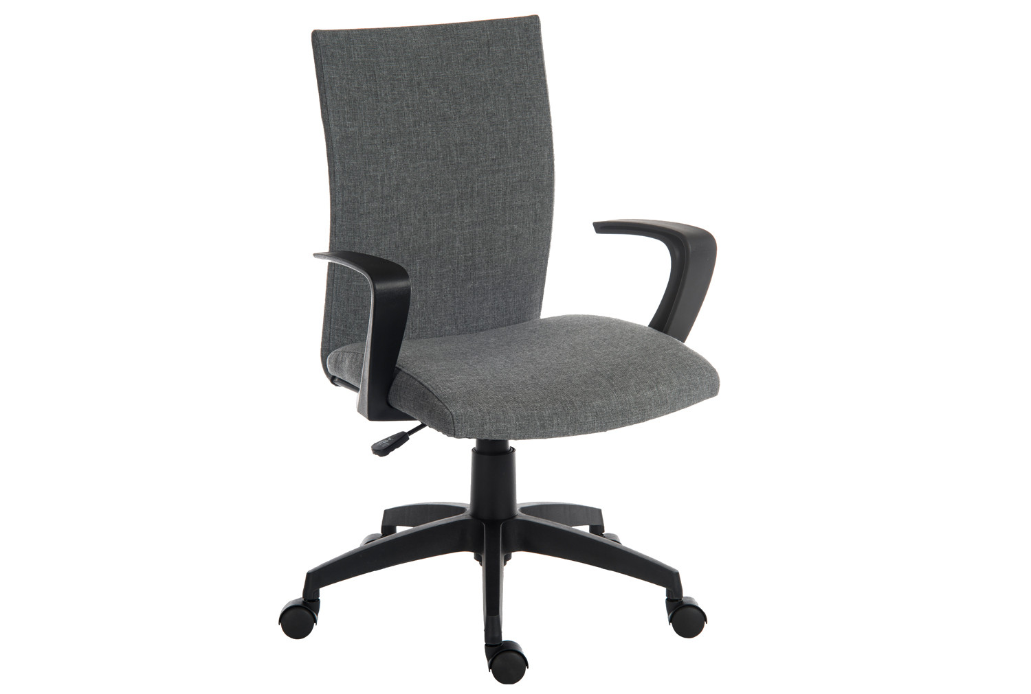 Cloth Office Chairs Employ Fabric Executive Office Chair Grey Furniture At Work