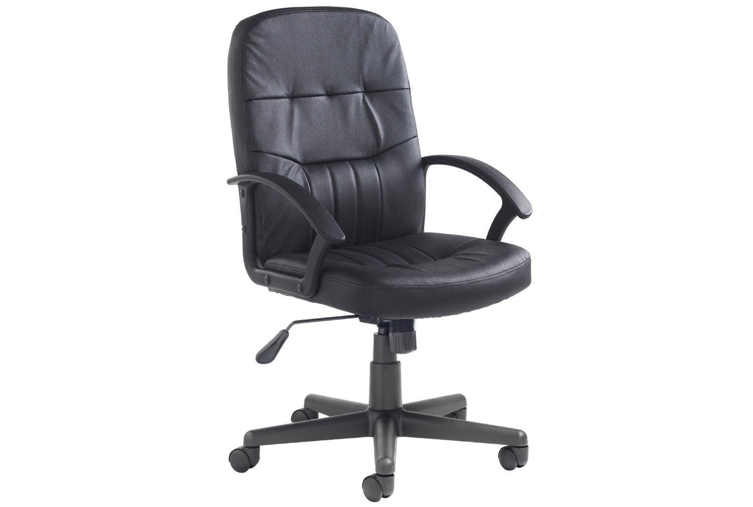 Work Chair York High Back Leather Faced Executive Chair
