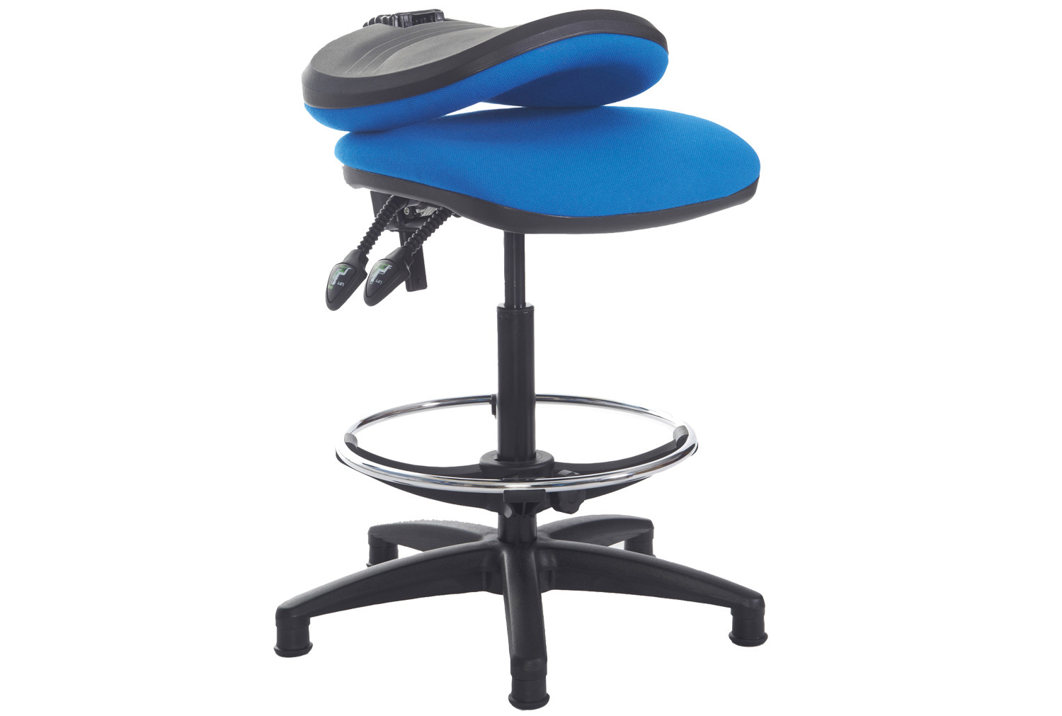 Height Adjustable Chair Point Draughtsman Chair With Height Adjustable Arms