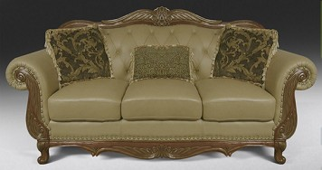 Leather Sofa from The RoomPlace