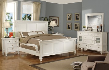 The Malibu Collection  |  7 Pc. Queen Bedroom w/ Two Nightstands