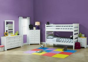 Catalina Bunk Bed White