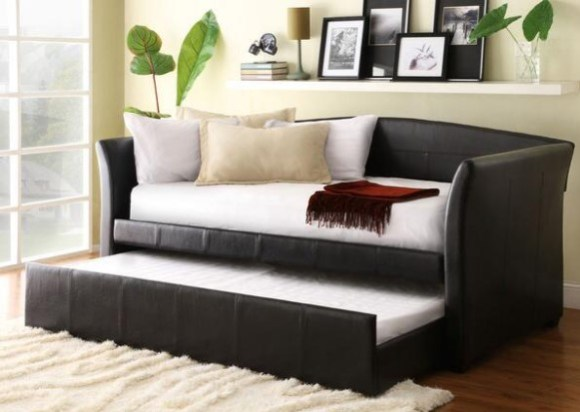 Donovan Brown 3 Pc. Daybed With Twin Trundle From The RoomPlace
