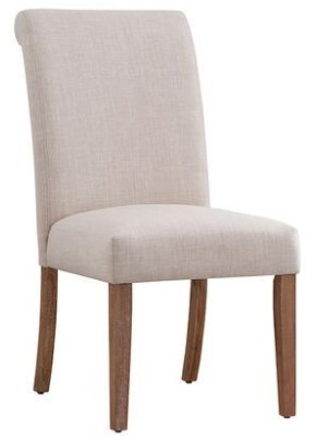 Richland Rolled Back Dining Chair From The RoomPlace