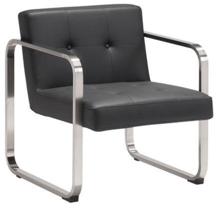 Varietal Black Arm Chair from The RoomPlace