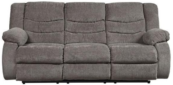 Talen Gray Reclining Sofa from The RoomPlace