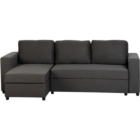 large dark grey corner sofa braxton reclining reviews seconique dora bed in fabric furniture123 300 308 017