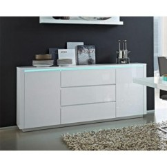 White Gloss Living Room Furniture Next Wall Paint Colors Germania Chicago High Sideboard | Furniture123