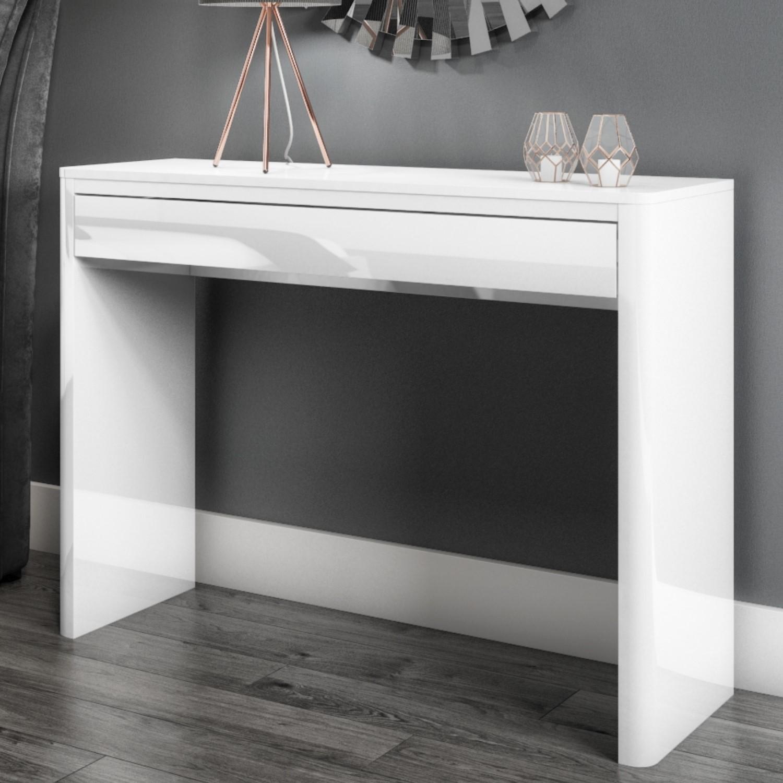sofa table size swedish manufacturers lexi white high gloss console furniture123