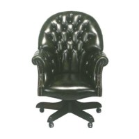 Forest Sofa Director Leather Swivel Executive Chair ...