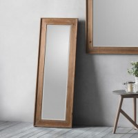 Morgan Full Length Mirror with Wood Frame