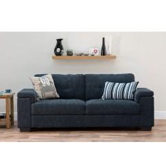 Sofa Bed World Uk Sectional Sofas San Jose Ca Furniture Harlow 3 Seater In Grey Furniture123 View Larger Image
