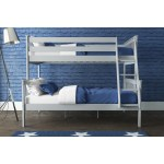 Oxford Triple Bunk Bed In Light Grey Small Double Furniture123