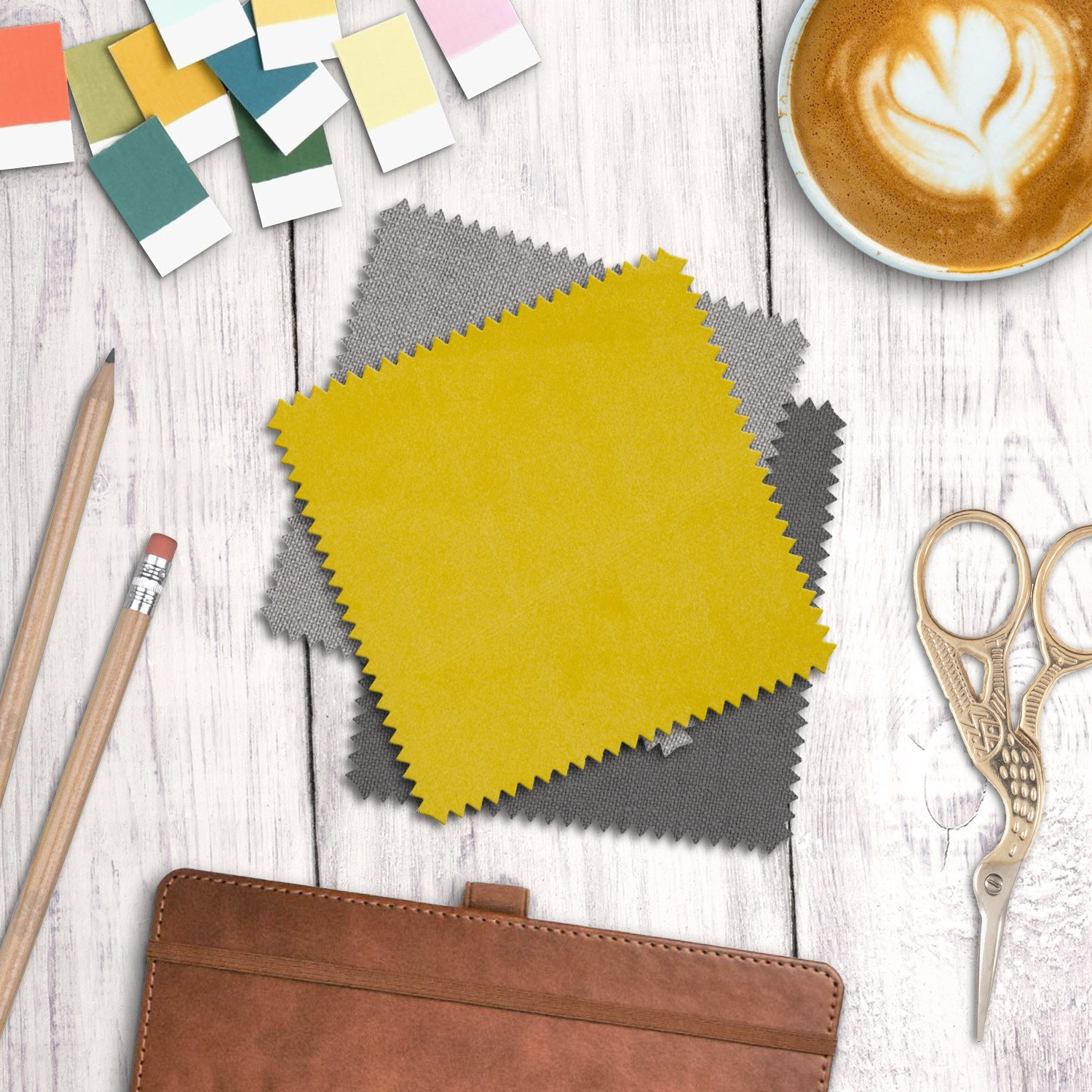safina striped top ottoman storage bench in yellow velvet