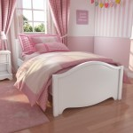 Victoria Girls White Single Bed Furniture123