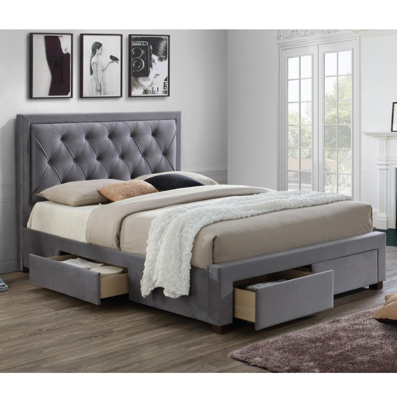 b4ebe5212300e5 Birlea Woodbury Super King Upholstered Grey Ottoman Bed