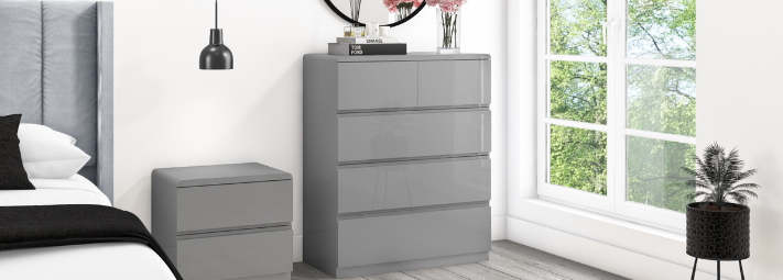 grey bedroom furniture collections