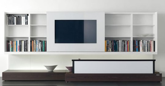 Contemporary-Entertainment-Center-Design-for-Interior-Furniture-Newind-Series-by-Gabriele-and-Oscar-Buratti