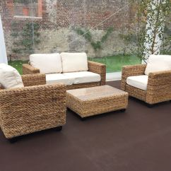Rattan Indoor Sofa Bed Replacement Cushions For Dfs Natural Set Furniture4events