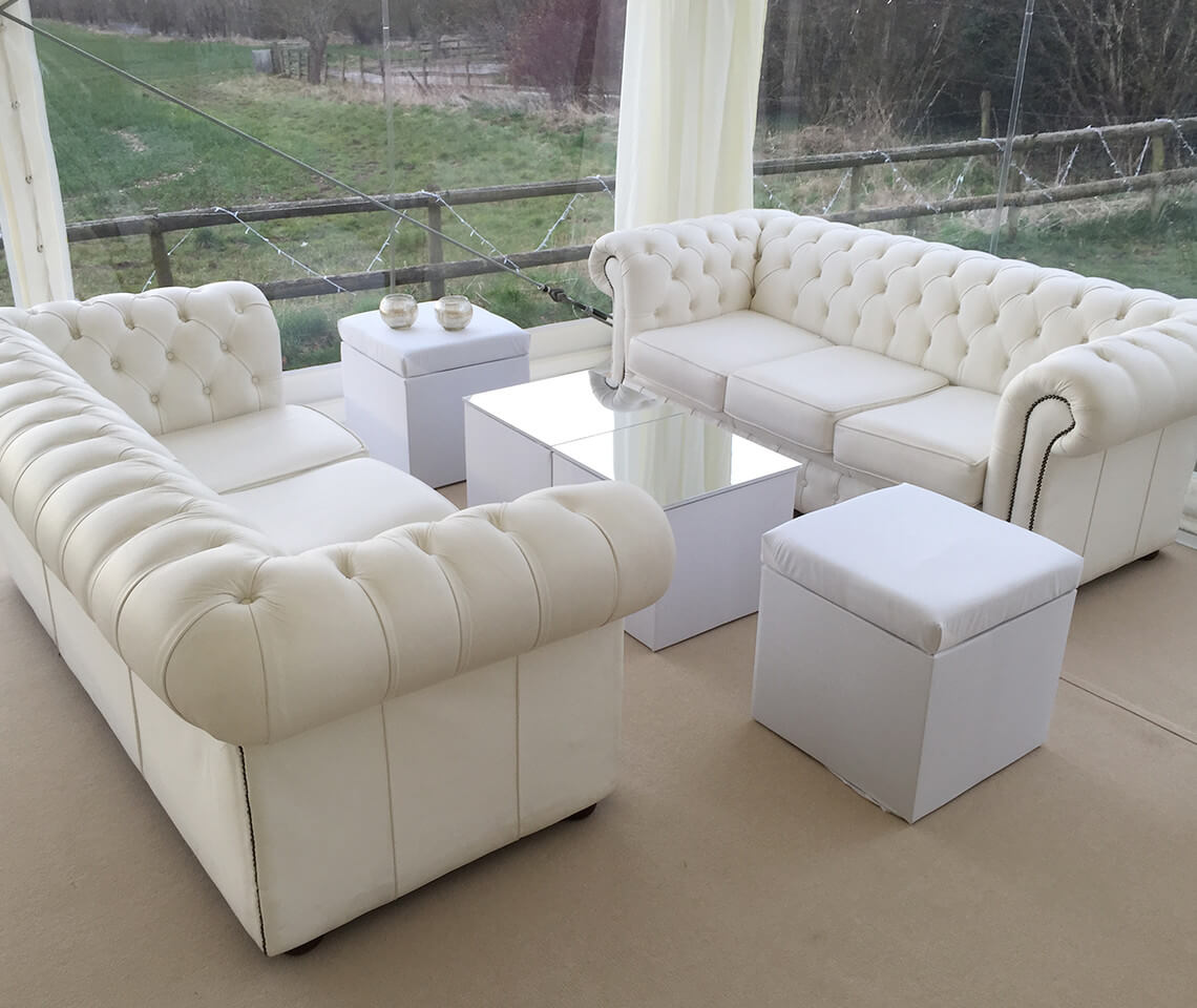 wedding chair cover hire chesterfield correct posture kneeling white sofa furniture4events