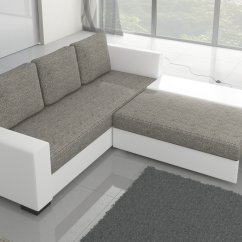 Brown And Beige Corner Sofa Out Door Bed 39canis 39 Fabric