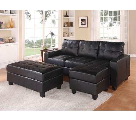 Sectional Sofa Reversible Chaise with Ottoman  Sectionals  Living Room Seating  Living Room