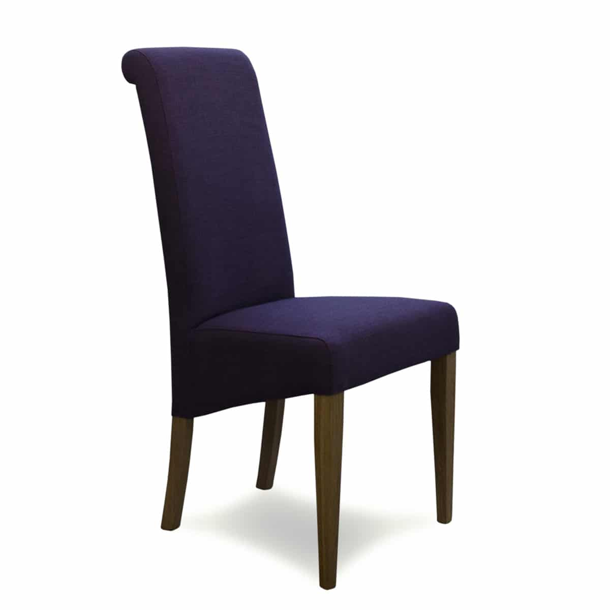Purple Dining Room Chairs Napoli Purple Fabric Dining Chair Furniture And Mirror